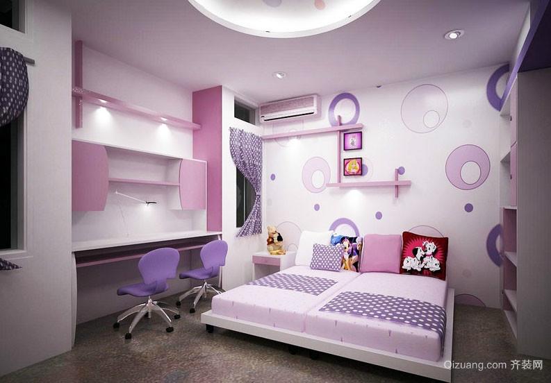 可爱卡通儿童房装修效果图
