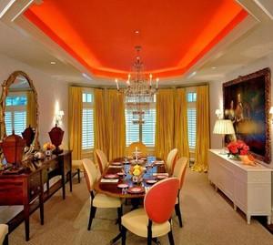 200平米混搭酒店室内窗帘装修设计效果图
