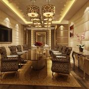 30平米混搭风格餐厅室内装修效果图