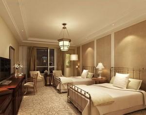 30平米混搭风格宾馆室内飘窗装修效果图