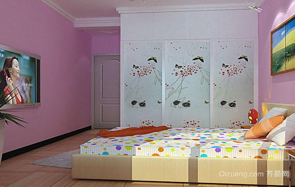 现代简约轻快儿童房装修效果图