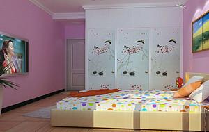 女生儿童房装修效果图