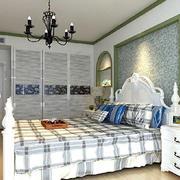 田园风格卧室装修效果图