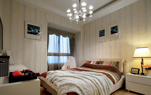 新款现代简约时尚卧室装修效果图