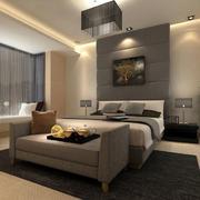 现代精致简约卧室效果图