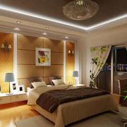 精致时尚卧室效果图