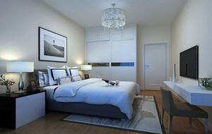 现代简约时尚卧室装修效果图