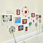 创意十足客厅照片墙效果图