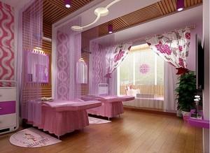 90平米暖色调宜家美容院室内装修效果图
