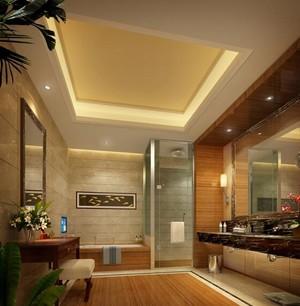 60平米宜家宾馆卫生间装修效果图欣赏