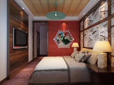 140平米宜家宾馆电视背景墙装修效果图