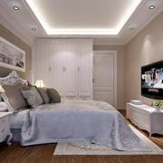 2016欧式风格大户型卧室装修效果图