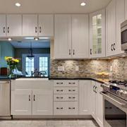 现代欧式大户型厨房室内装修效果图