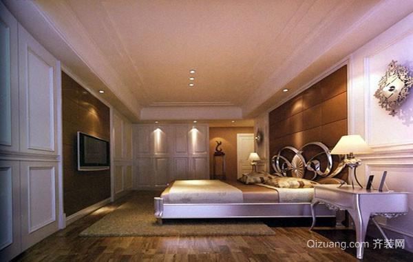 精致简约时尚大户型卧室装修效果图