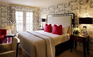 美式风格精致简约卧室装修效果图
