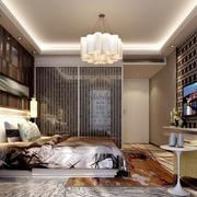 创意十足时尚混搭卧室装修效果图