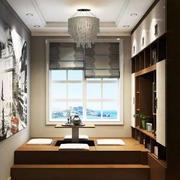 5平米现代中式风格榻榻米装修效果图