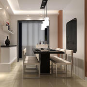精致现代简约风格餐厅设计