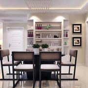 110平米欧式风格餐厅室内装修效果图