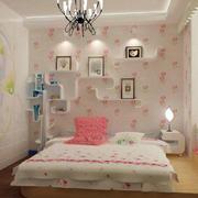 时尚简约卧室背景墙装修