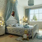 美式田园风格卧室效果图