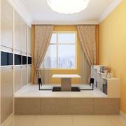 90平米现代精致的榻榻米室内装修效果图