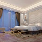 大户型欧式卧室背景墙装修效果图欣赏