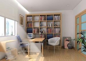 8平米现代时尚书房装修效果图赏析