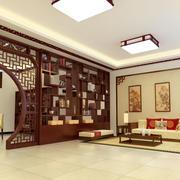 中式风格稳重端庄客厅装修效果图