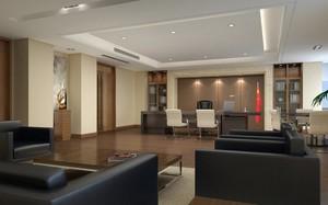 210平米精致的现代办公室吊顶装修效果图