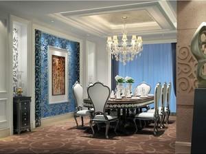 200平米精致的餐厅室内飘窗设计装修效果图