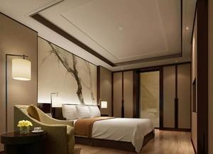 30平米精致的宾馆室内吊顶装修效果图