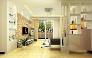 120平米三居室现代风格玄关装修效果图