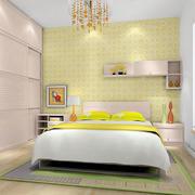 明亮黄色卧室装修