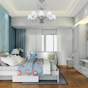 卧室吊灯装修效果图
