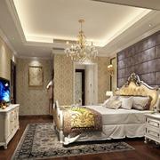 时尚华丽卧室水晶吊灯效果图