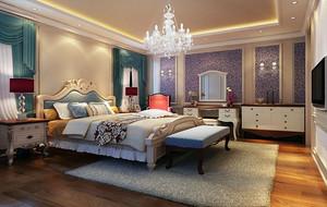 欧式风格卧室装修效果图大全