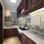 美式厨房挂柜装修