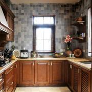美式厨房墙面装修