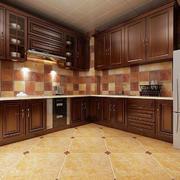 时尚简约厨房装修效果图