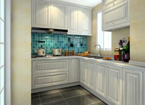 现代极简主义风格厨房装修效果图实例
