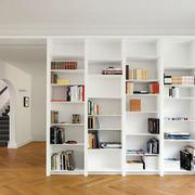精致书房书架装修效果图