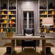 现代简约风格书房整体设计
