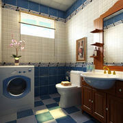 现代风格精致简约卫生间效果图