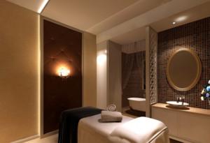 96平米自然风格美容院室内设计装修效果图
