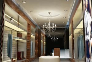 30平米都市服装店室内设计装修效果图欣赏