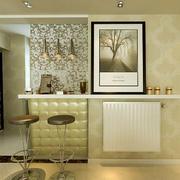 现代风格吧台背景墙效果图