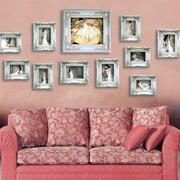 浪漫粉色照片墙