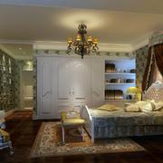 欧式田园风格卧室整体设计