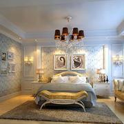 田园风格大户型卧室装修效果图
